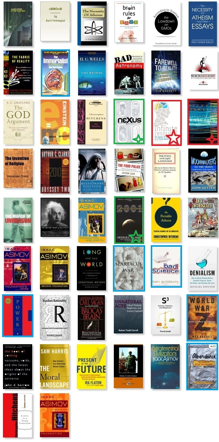 My 50 books of 2013 - with favourites