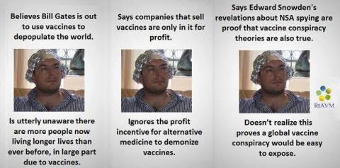vaccine conspiracy theories