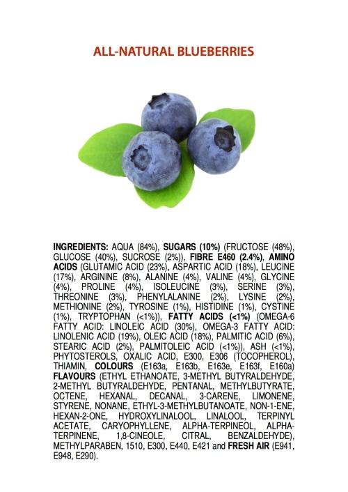 all natural berries