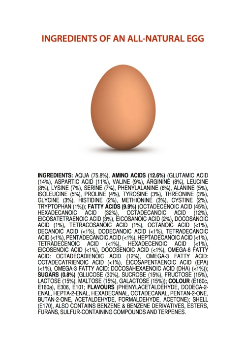 all natural egg