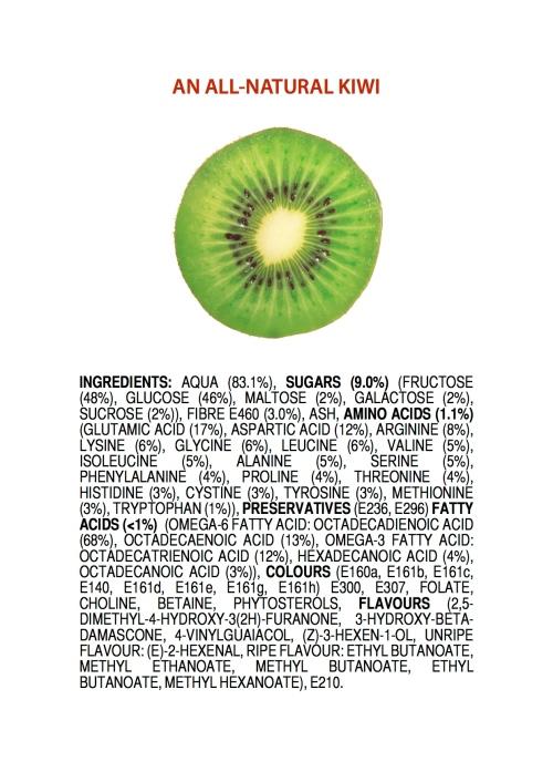 All natural kiwi